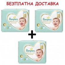 Pampers Premium Care 6 пелени 13кг+ 114бр + Безплатна доставка до офис на Еконт/Спиди
