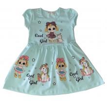 Лятна рокля Лол кукла 98-128