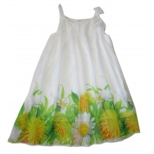 Контраст лятна рокля Цветя 128-164