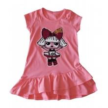 Детска рокля Лол кукла 98-128