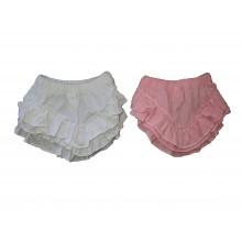 Бебешки памперс гащички с къдрички 56-92