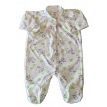 Бебешки гащеризон зелен 56-74