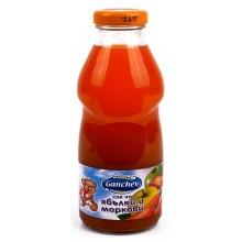 Ганчев Сок Ябълки и моркови 750мл.