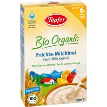 Тьопфер каша - Topfer инстантна каша Ябълка, банан и портокал 175гр.