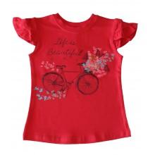 Лятна блуза за момиче Колело 98-122