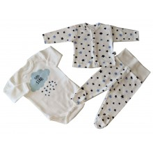 Комплект за бебе 3 части 56-62
