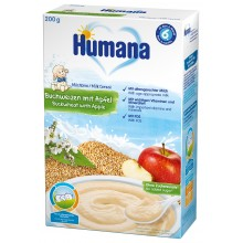Хумана каша - Humana инстантна каша Елда с ябълка 200гр.