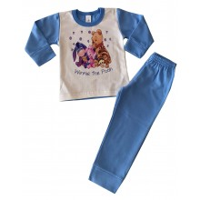 Бебешка ватирана пижама 80-86