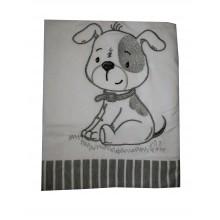 Бебешка пелена Кученце 85/85 см