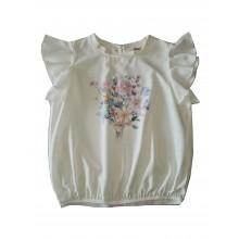 Контраст риза за момиче Слънчеви Цветя 128-164