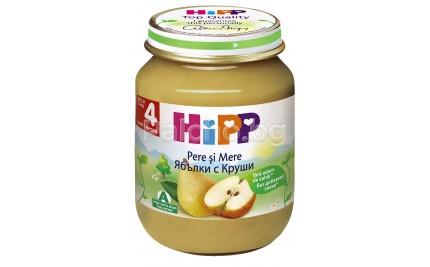 Хип пюре - Hipp Bio Ябълки с круши 125гр.