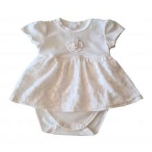 Бебешка боди рокля Далия 56-80