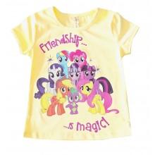 Лятна блуза за момиче Пони 92-116