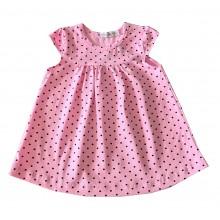 Бебешка лятна рокля Точици 62-80