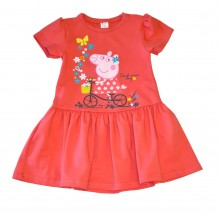 Детска лятна рокля Пепа Пиг 86-128