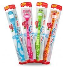 Аквафреш детска четка за зъби - Aquafresh Little Teeth 3-5 години