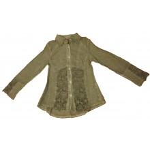 Вталена риза с дантела 128-152