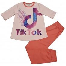 Пижама за момиче Тик Ток 134-170