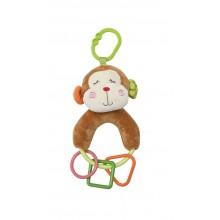 Lorelli плюшена дрънкалка фигури маймунка