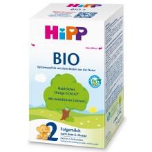 Хип Био мляко - HIPP 2 Bio Мляко за бебета 6м+ 600гр.