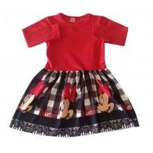 Детска рокля Мини Маус 92-122