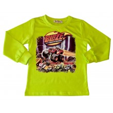 Блуза за момче Пламъчко 92-116