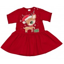Детска Коледна рокля Сърничка 68-128