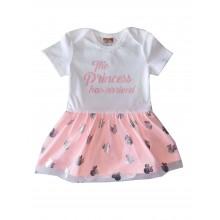 Бебешка боди рокля Princess 62-86