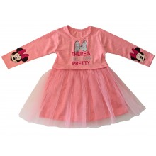 Детска рокля с тюл Мини 86-116