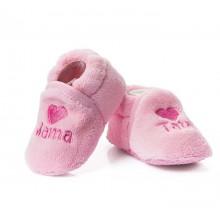 Attractive baby бебешки пантофки розови