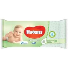 Huggies Natural care - Мокри кърпи Хъгис с Алое 56бр.