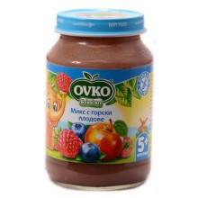 Овко пюре - Ovko Микс с горски плодове 190гр.