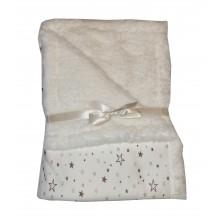 Бебешко одеяло  бежово