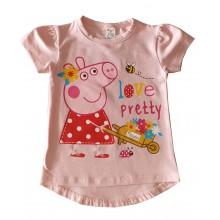 Лятна блуза за момиче Пепа Пиг 86-116