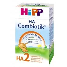 Хип ХА 2 - HIPP H.A.2 Combiotic Био Хипоалергенно мляко 6м+ 350гр.