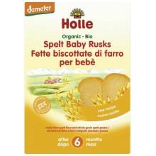 Holle Bio Бебешки сухари от спелта 200гр