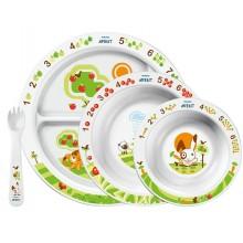 Прибори и чинии за хранене