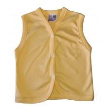 Елек за бебе жълт 56-74