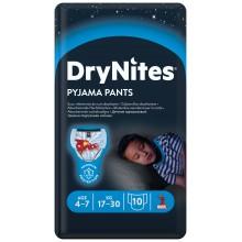 Huggies DryNights Нощни пелени гащи за Момче 4-7г/17-30кг 10бр