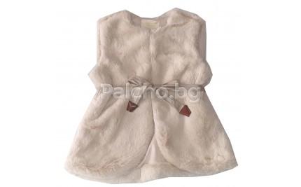 Пухен елек  за момиче 98-152