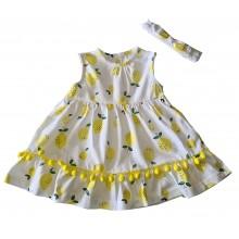 Бебешка рокля Лимончета 56-74