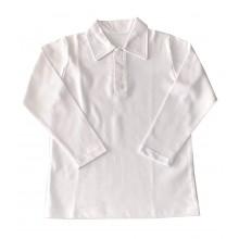 Бяла риза за момче 122-164
