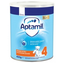Аптамил 4 - APTAMIL 4  Мляко за малки деца 24м+ 400гр.