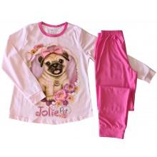 Пижама за момиче Кученце 134-152