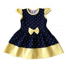 Мариела детска рокля Точки 86-116