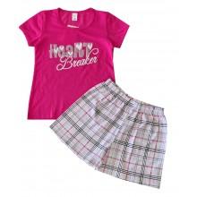 Детска пижама за момиче 122-146