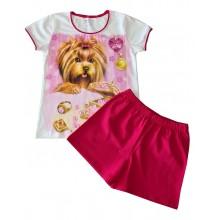 Лятна пижама за момиче Венера 134-152