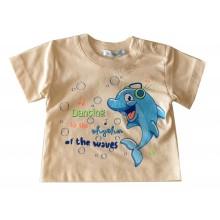 Бебешка тениска Делфинче 92