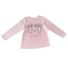 Детска блуза за момиче Коте 92-104