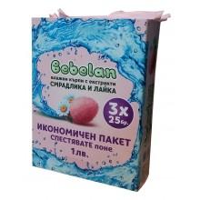 Bebelan Влажни кърпи със Смрадлика и Лайка 3*25бр.